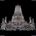 1771/12/270/C/NB Хрустальная подвесная люстра Bohemia Ivele Crystal