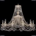 1771/12/340/C/GW Хрустальная подвесная люстра Bohemia Ivele Crystal