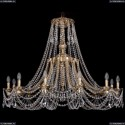 1771/12/410/C/FP Хрустальная подвесная люстра Bohemia Ivele Crystal
