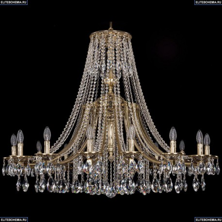 1771/16/410/A/GB Хрустальная подвесная люстра Bohemia Ivele Crystal