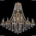 1771/16/410/B/GB Хрустальная подвесная люстра Bohemia Ivele Crystal
