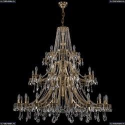 1771/20+10+5/490/A/GB Хрустальная подвесная люстра Bohemia Ivele Crystal