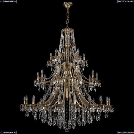 1771/20+10+5/490/B/GB Хрустальная подвесная люстра Bohemia Ivele Crystal