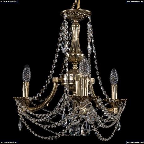 1771/3/150/C/GB Хрустальная подвесная люстра Bohemia Ivele Crystal