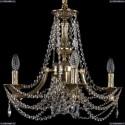 1771/4/150/C/GB Хрустальная подвесная люстра Bohemia Ivele Crystal