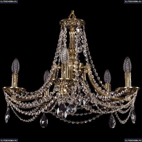 1771/5/190/C/GB Хрустальная подвесная люстра Bohemia Ivele Crystal