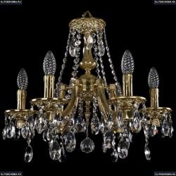 1771/6/150/A/G Хрустальная подвесная люстра Bohemia Ivele Crystal