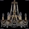 1771/6/150/C/GB Хрустальная подвесная люстра Bohemia Ivele Crystal