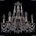 1771/6/150/C/NB Хрустальная подвесная люстра Bohemia Ivele Crystal