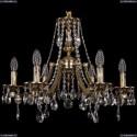 1771/6/190/A/GB Хрустальная подвесная люстра Bohemia Ivele Crystal