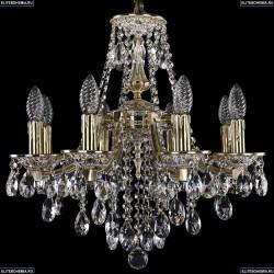 1771/8/150/B/GW Хрустальная подвесная люстра Bohemia Ivele Crystal
