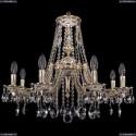 1771/8/220/A/GW Хрустальная подвесная люстра Bohemia Ivele Crystal