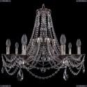 1771/8/220/C/NB Хрустальная подвесная люстра Bohemia Ivele Crystal