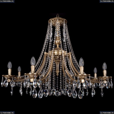 1771/8/340/A/FP Хрустальная подвесная люстра Bohemia Ivele Crystal