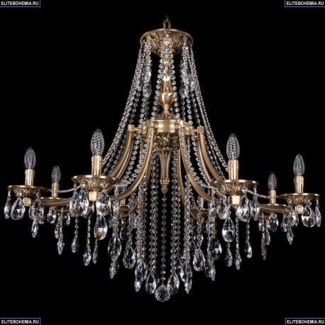 1771/8/340/B/FP Хрустальная подвесная люстра Bohemia Ivele Crystal