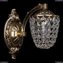 1772/1/150/GB Хрустальное бра Bohemia Ivele Crystal