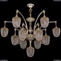 1772/12+1/342/GW Хрустальная подвесная люстра Bohemia Ivele Crystal