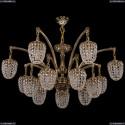 1772/14/342/GB Большая хрустальная подвесная люстра Bohemia Ivele Crystal