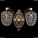 1772/2/150/GB Хрустальное бра Bohemia Ivele Crystal