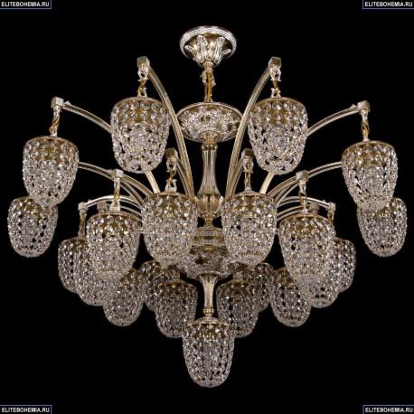 1772/20+1/342/GW Хрустальная большая люстра Bohemia Ivele Crystal