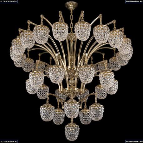1772/20+10+5+1/490/GB Хрустальная подвесная люстра Bohemia Ivele Crystal