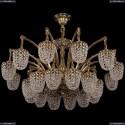 1772/24/342/GB Большая хрустальная подвесная люстра Bohemia Ivele Crystal