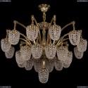 1772/24+1/342/GB Большая хрустальная подвесная люстра Bohemia Ivele Crystal