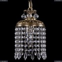 1778/14/FP/Drops Хрустальный подвес Bohemia Ivele Crystal
