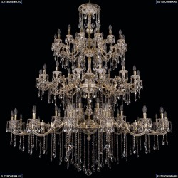 1739/32+24+24/410+300/B/GW Хрустальная подвесная люстра Bohemia Ivele Crystal