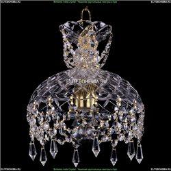 7711/22/G/Drops Хрустальная подвесная люстра Bohemia Ivele Crystal