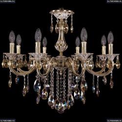 1702/8/250/B/GW/K701 Хрустальная подвесная люстра Bohemia Ivele Crystal