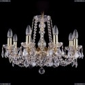 1214/8/200/G/Leafs Хрустальная подвесная люстра Bohemia Ivele Crystal