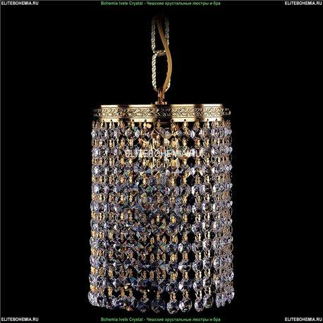 1920/15R/G Bohemia Ivele Crystal, Чешский Подвесной хрустальный светильник