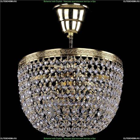 1920/25/O/G Bohemia Ivele Crystal, Чешская Люстра на штанге с хрустальным рожком