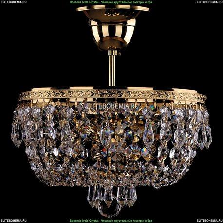 1927/25/G Хрустальная потолочная люстра Bohemia Ivele Crystal (Богемия)