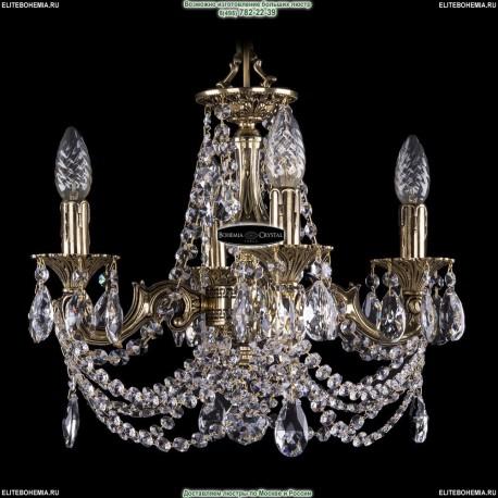 1702/4/CK125IV/C/GB Хрустальная подвесная люстра Bohemia Ivele Crystal