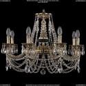 1702/8/265/C/GB Хрустальная подвесная люстра Bohemia Ivele Crystal (Богемия)