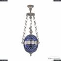 71000P/20 Ni Clear-Blue/H-1J FA3S Подвес под бронзу из латуни Bohemia Ivele Crystal (Богемия), 7100