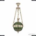 71000P/25 GW Clear-Green/H-1J FS1S Подвес под бронзу из латуни Bohemia Ivele Crystal (Богемия), 7100