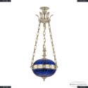 71000P/30 GW Clear-Blue/H-1K Y8 FA4M Подвес под бронзу из латуни Bohemia Ivele Crystal (Богемия), 7100