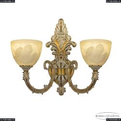 7109B15/2/210 GW P1 U Angel Бра под бронзу из латуни Bohemia Ivele Crystal (Богемия), 7109