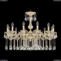 71102/12/300 A GW Подвесная люстра под бронзу из латуни Bohemia Ivele Crystal (Богемия), 7102