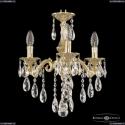 71102/3/125 B G Подвесная люстра под бронзу из латуни Bohemia Ivele Crystal (Богемия), 7102