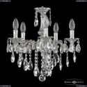 71102/5/125 B Ni Подвесная люстра под бронзу из латуни Bohemia Ivele Crystal (Богемия), 7102