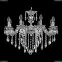 71202/8/210 B NW Подвесная люстра под бронзу из латуни Bohemia Ivele Crystal (Богемия), 7102