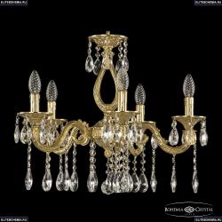 71301/5/175 A G Подвесная люстра под бронзу из латуни Bohemia Ivele Crystal (Богемия), 7101