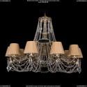 1771/10/340/C/GB/SH37 Хрустальная подвесная люстра Bohemia Ivele Crystal (Богемия)