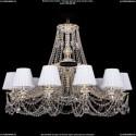 1771/12/340/C/GW/SH13 Хрустальная подвесная люстра Bohemia Ivele Crystal (Богемия)