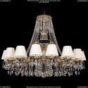 1771/16/410/A/GB/SH33 Хрустальная подвесная люстра Bohemia Ivele Crystal (Богемия)