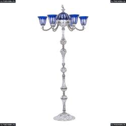72009TP/6/175 NW P2 U Clear-Blue/H-1H FL3S Торшер под бронзу из латуни Bohemia Ivele Crystal (Богемия), 7209